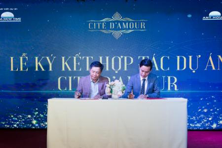 Asia New Time phân phối độc quyền khu nhà phố thương mại Cite' D'amour