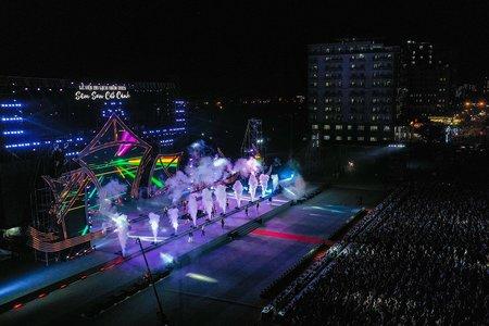 Thanh Hóa rực rỡ pháo hoa đêm khai mạc Lễ hội du lịch Biển 2021