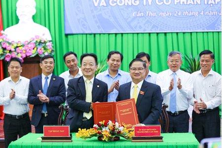T&T Group hợp tác chiến lược với TP Cần Thơ, đề xuất đầu tư nhiều dự án lớn