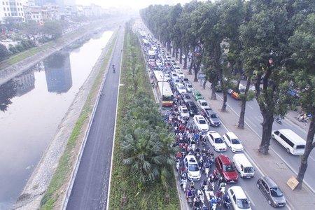Hà Nội xây dựng tuyến đường ven sông Tô Lịch