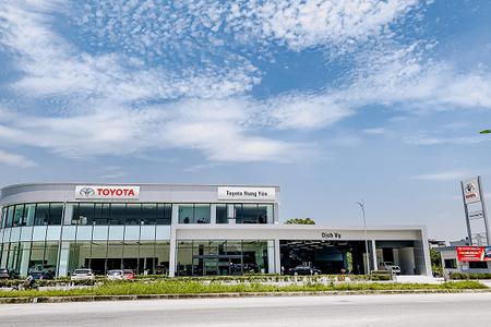 Toyota ra mắt đại lý ở Hưng Yên