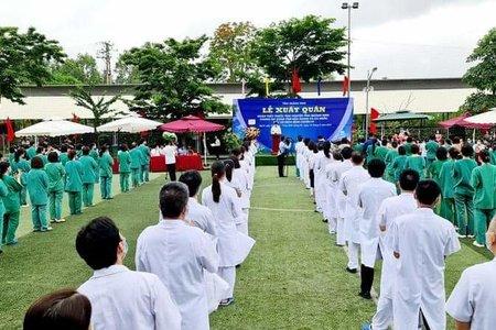 Quảng Ninh: Cử Đoàn Thầy thuốc tình nguyện lên đường hỗ trợ tỉnh Bắc Giang