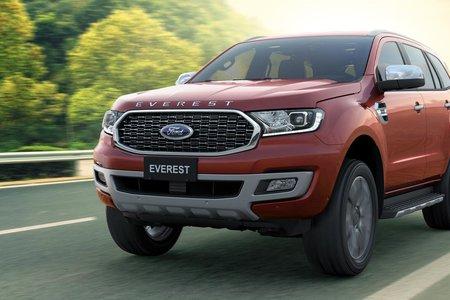 Ford Ranger và Ford Everest giữ vững phong độ quý I