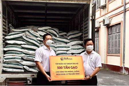 T&T Group ủng hộ 1.000 tấn gạo và 5 tỷ đồng
