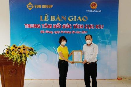 Sun Group bàn giao Trung tâm Hồi sức tích cực hiện đại nhất miền bắc