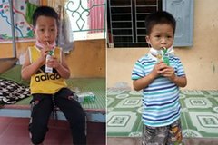 Vinamilk và quỹ sữa vươn cao Việt Nam trao 8.400 hộp sữa