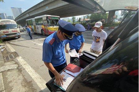 Hà Nội: Xử phạt gần 25 tỷ đồng vi phạm ATGT trong 6 tháng đầu năm