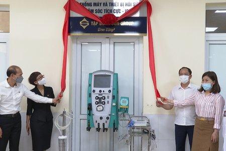 Sun Group tặng trang thiết bị y tế phòng chống dịch Covid-19 trị giá hơn 31 tỷ đồng cho Hà Tĩnh