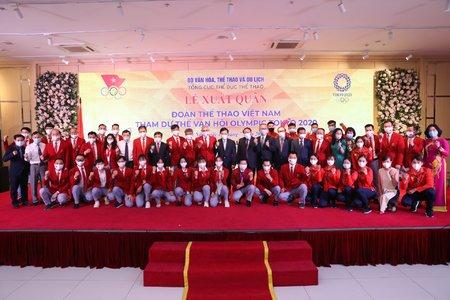 Đoàn Thể thao Việt Nam xuất quân tham dự Olympic Tokyo 2020