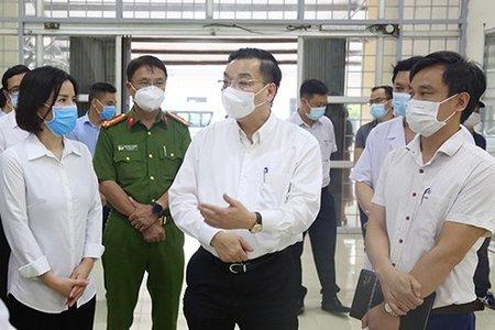 Hà Nội: Ưu tiên ngăn chặn mầm bệnh xâm nhập, không ''ngăn sông cấm chợ''