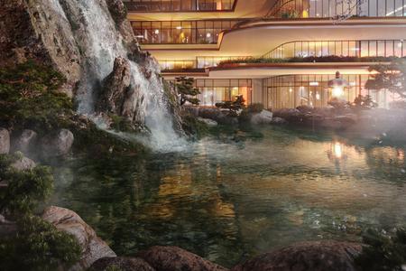 3 tập đoàn huyền thoại Nhật Bản triển khai tổ hợp căn hộ Onsen đầu tiên của Việt Nam