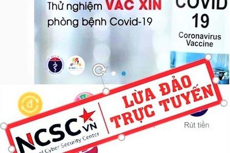Cảnh báo hàng loạt phương thức lừa đảo lợi dụng dịch COVID-19