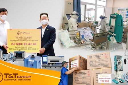 T&T Group tài trợ 20 tỷ đồng mua trang thiết bị y tế giúp một số địa phương phòng, chống dịch
