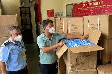 Hà Nội phát hiện 1.000 bộ van máy thở oxy không rõ nguồn gốc