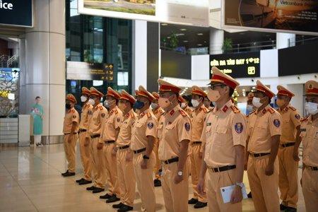 Cục CSGT xuất quân chi viện cho TP Hồ Chí Minh chống dịch Covid-19