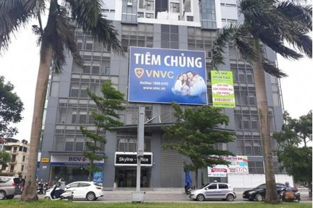 Hà Nội: Phong tỏa tạm thời Trung tâm tiêm chủng VNVC Hà Đông