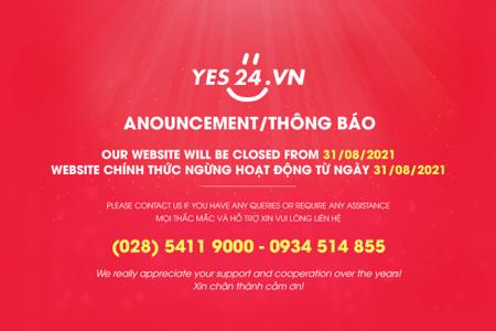 Yes24 chính thức dừng hoạt động tại Việt Nam