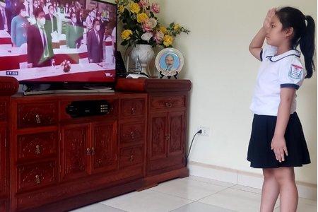 Hà Nội: Lễ khai giảng năm học mới mang nhiều sắc thái cảm xúc