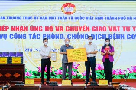 T&T Group tặng 1 triệu bộ kit xét nghiệm PCR Covid-19 trị giá 162 tỷ đồng hỗ trợ TP Hà Nội
