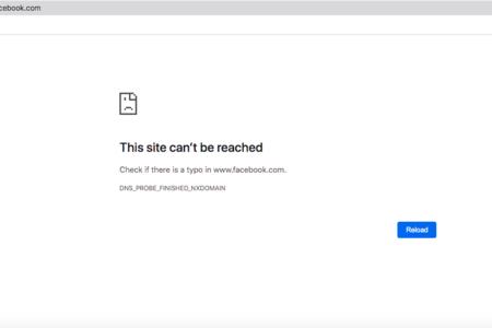 Người dùng bất ngờ khi không thể truy cập được vào một số mạng xã hội