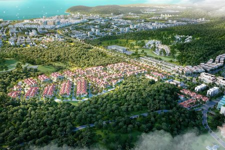 Phân khu Tropical Park ''nóng'' nhất ''Ngôi làng nhiệt đới'' Nam Phú Quốc