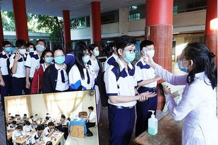 TP Hồ Chí Minh sẽ cho học sinh tới trường vào đầu năm 2022